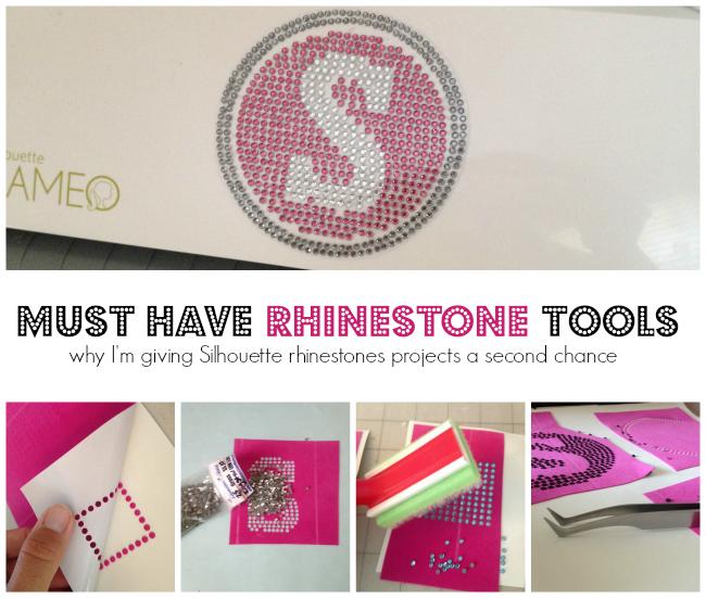 Silhouette Cameo, rhinestones, essential tools, tools