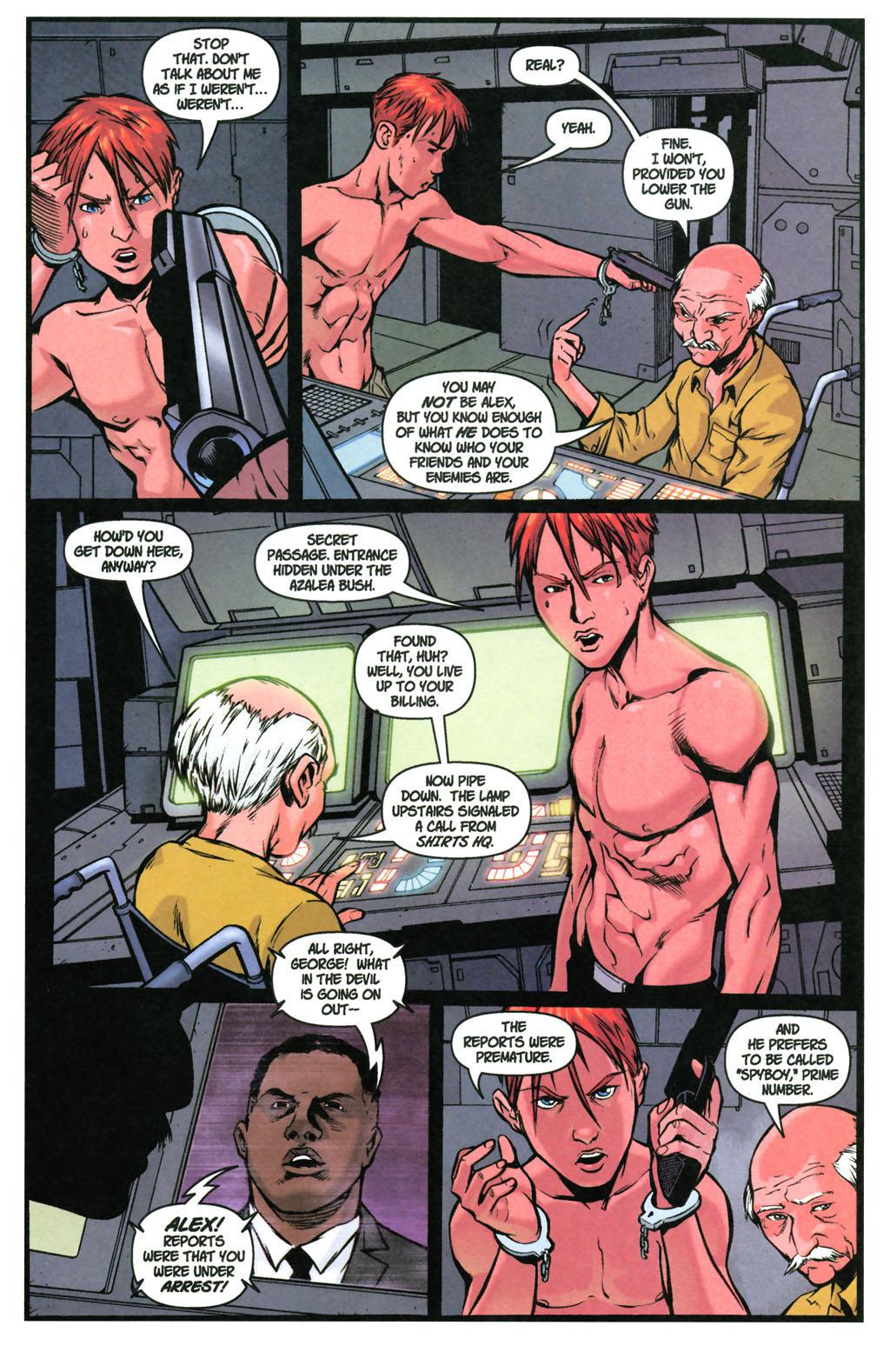 Read online SpyBoy: Final Exam comic -  Issue #3 - 15