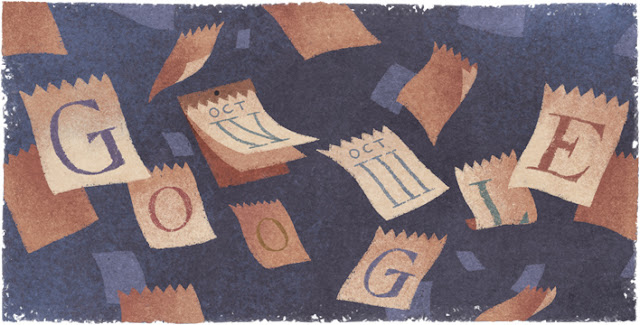 434th Anniversary of the Introduction of the Gregorian Calendar - Google Doodle