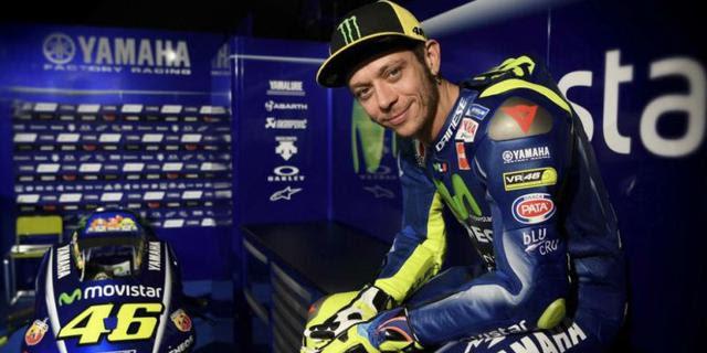 Surat Cinta Valentino Rossi Untuh Bocah Penderita Kanker Langka Laku Sampai Rp424 Juta