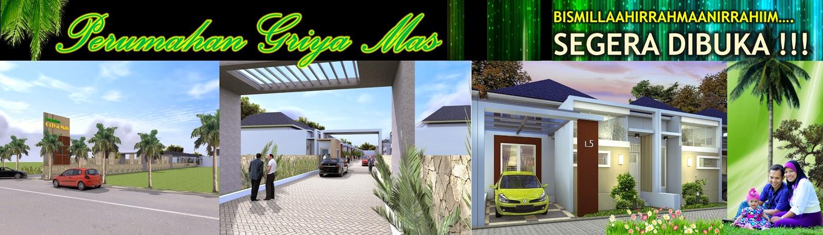 Desain Rumah Minimalis Perumahan Griya Mas Sidoarjo - Banner