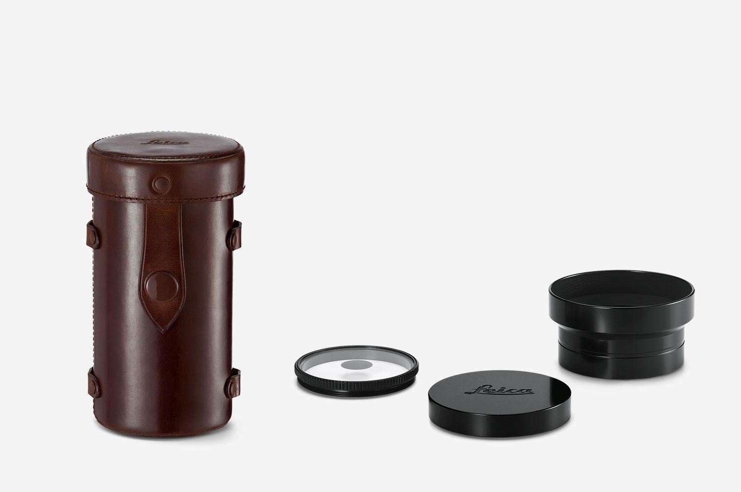 Комплект поставки объектива Leica Thambar M 90mm f/2.2
