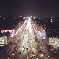 Champs-Élysées from the Arc de Triomphe, Paris