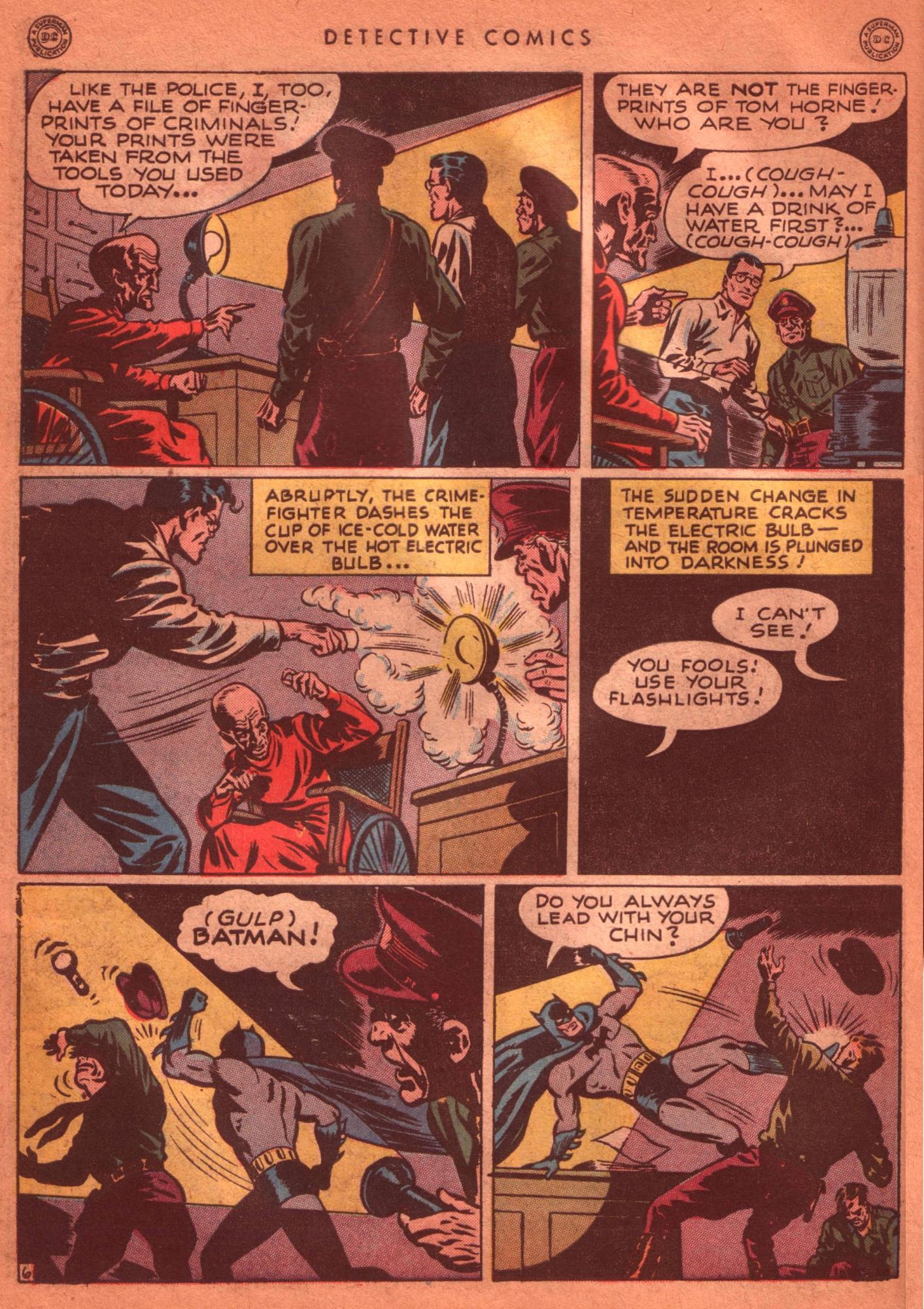 Read online Detective Comics (1937) comic -  Issue #125 - 8