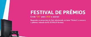 Promoção Festival de Prêmios Tim
