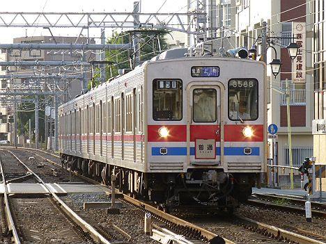 京成電鉄 普通 上野行き1 3500形未更新車(2017.2廃車)