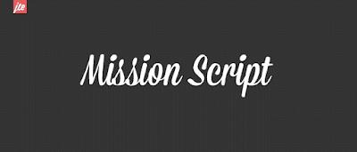 Mission Script Free Font