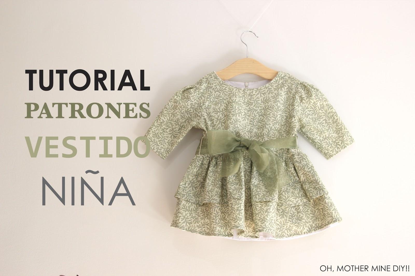 DIY Tutorial y patrones: Vestido para niña :D - Handbox Craft Lovers ...
