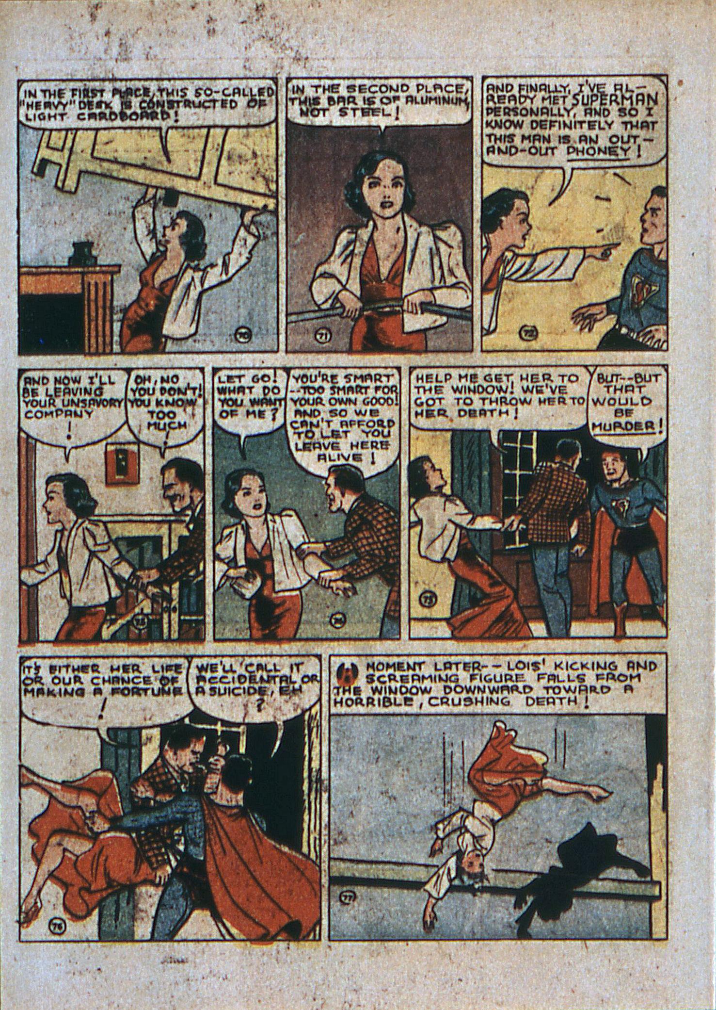 Action Comics (1938) 6 Page 12
