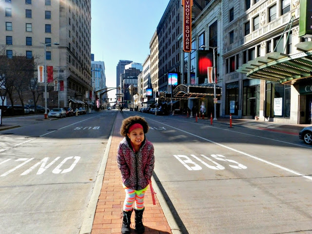 Spending the Day with my Daisy Girl Scout at Playhouse Square #gsneo