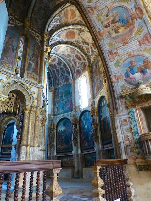 Charola de los templarios del convento de Cristo en Tomar