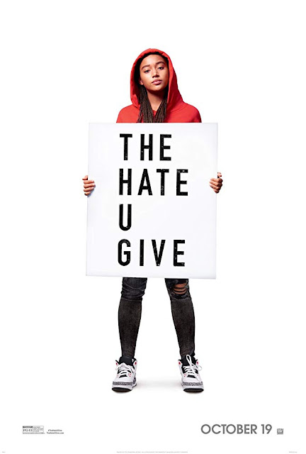 The Hate U Give 2018 movie poster Amandla Stenberg