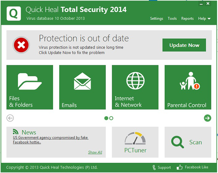 Quick heal antivirus total security 2015 update