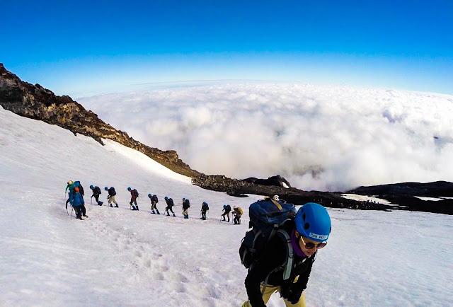 Trekking no Vulcão Villarrica em Pucón, Chile