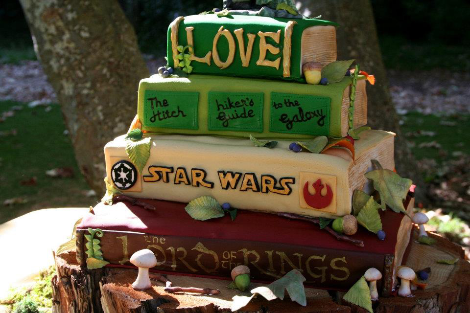 Jana*s Fun Cakes . Blogspot: The Books Wedding Cake