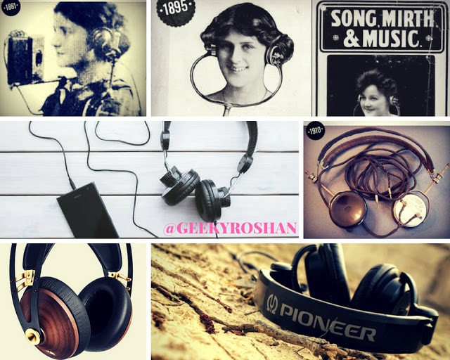 HISTORY OF HEADPHONES