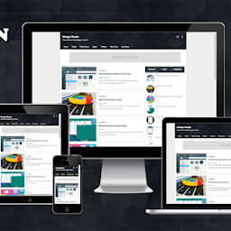 Masign Simple Responsive Material Design Blogger Template