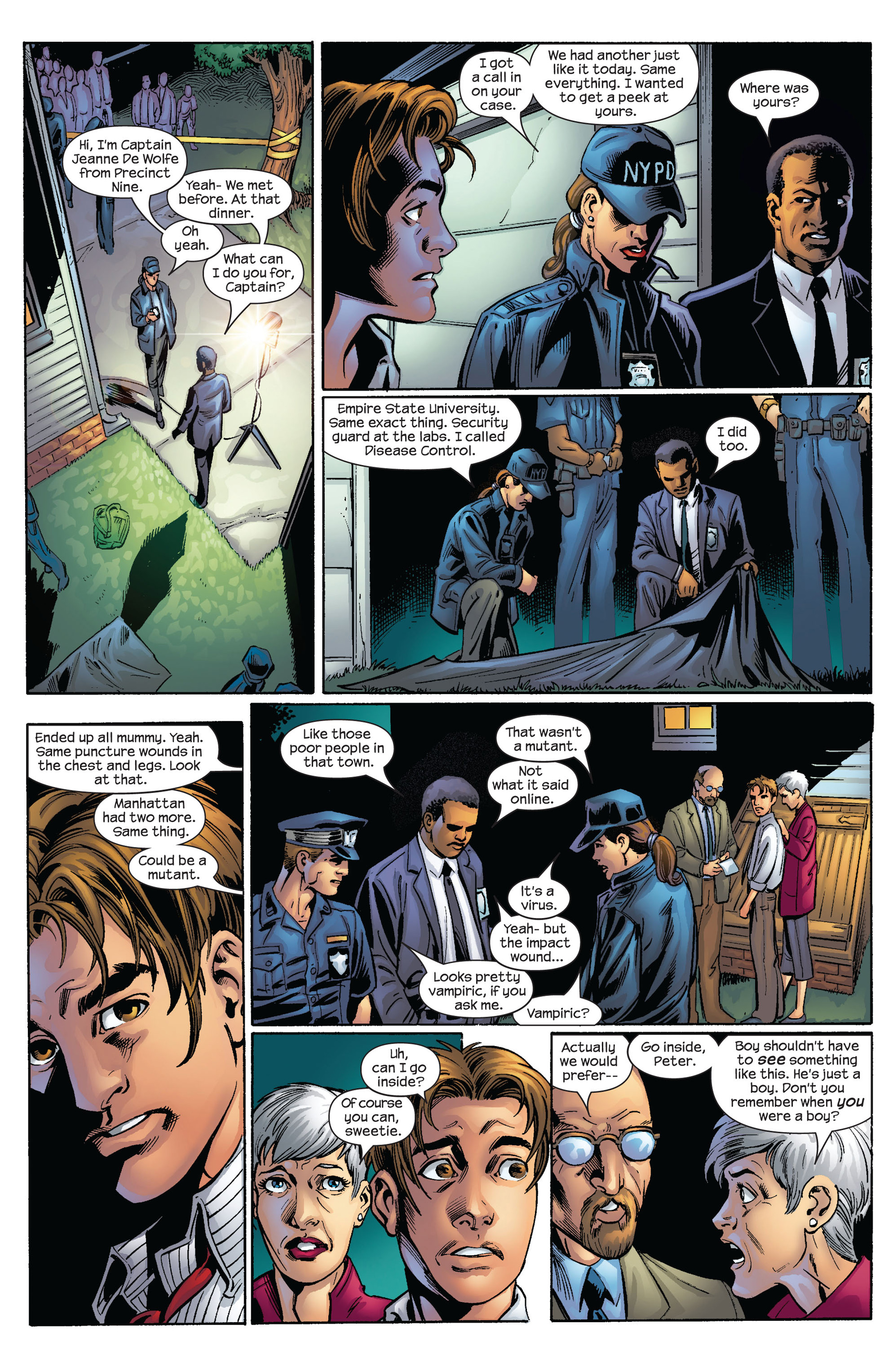 Read online Ultimate Spider-Man (2000) comic -  Issue #63 - 10