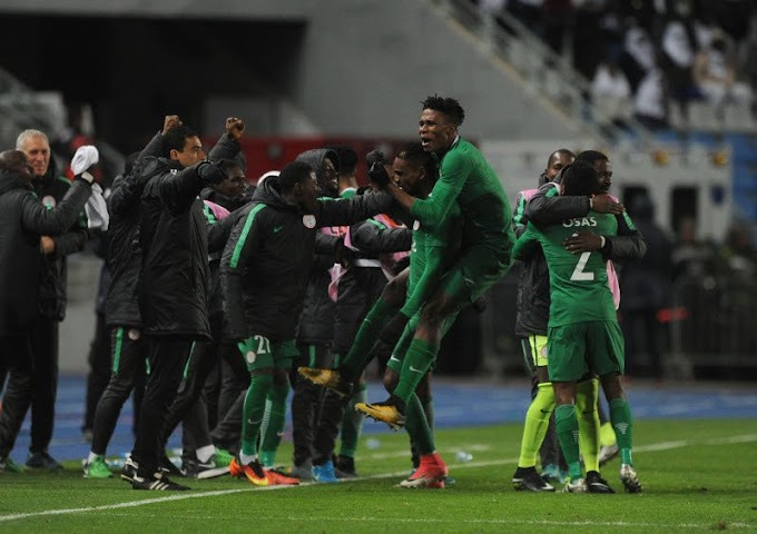 CHAN 2018: Nigeria qualifies for final after 1- 0 victory over Sudan