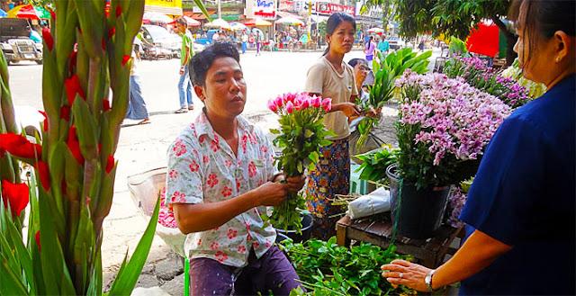 Yangon Exotic Shopping