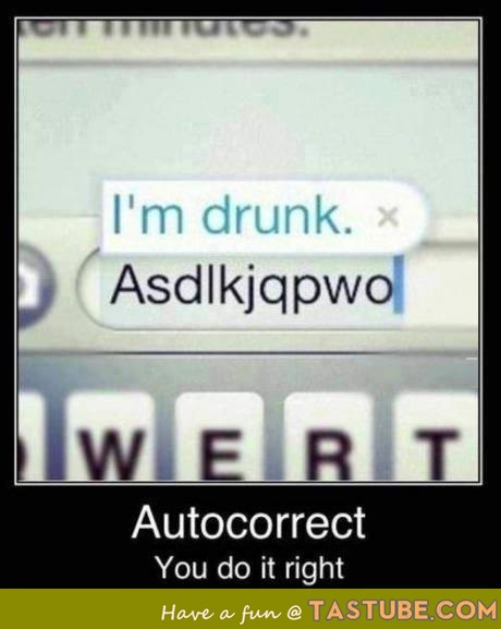 Autocorrect: Doing it right