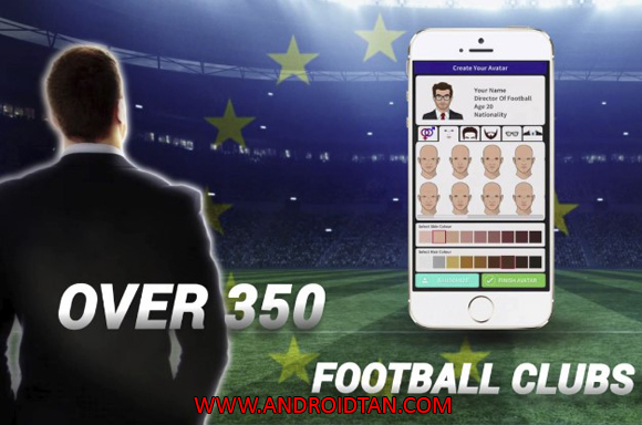 Club Soccer Director 2018 Mod Apk for Android