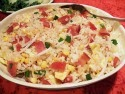 Bacon Egg and Sweet Sausage Fried Rice