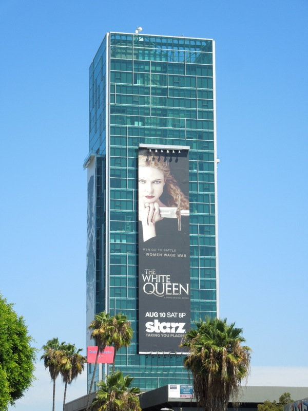The White Queen billboard