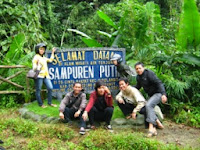 Air Terjun Sampuren Putih