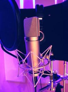 Simple home recording studio equipment Microphone