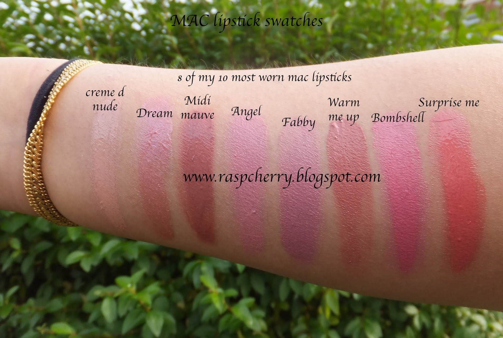 A beauty and lifestyle blog from Raspcherry.....: Swatches ...