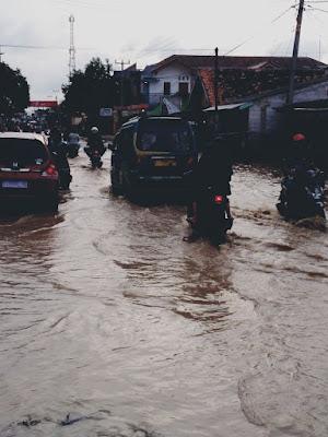 Hujan Di Hulu ,Cilamaya Hilir Karawang Banjir