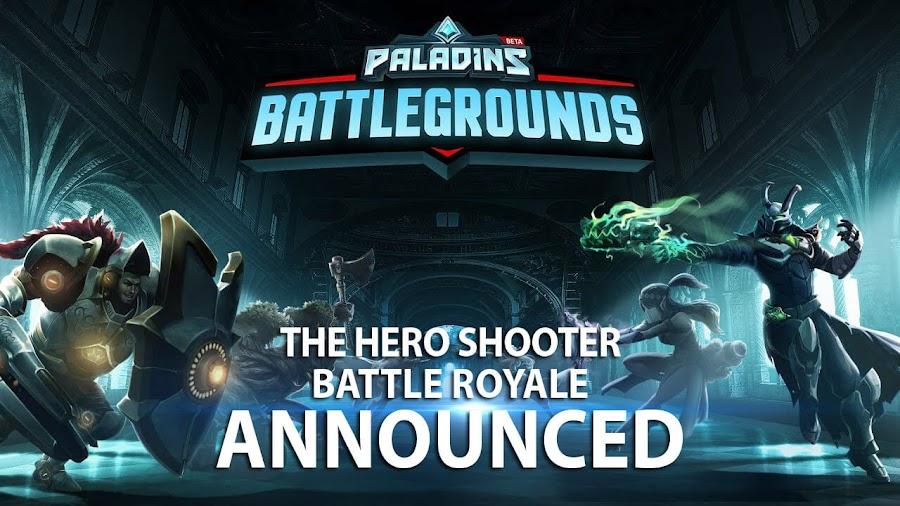paladins battlegrounds battle royale mode hi rez studios