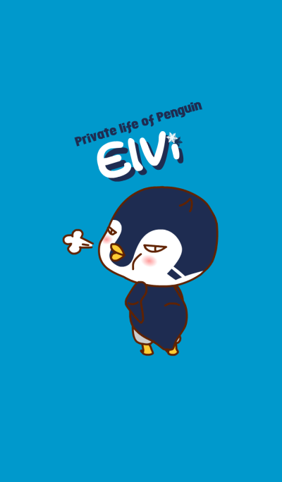 Private life of Penguin Elvi