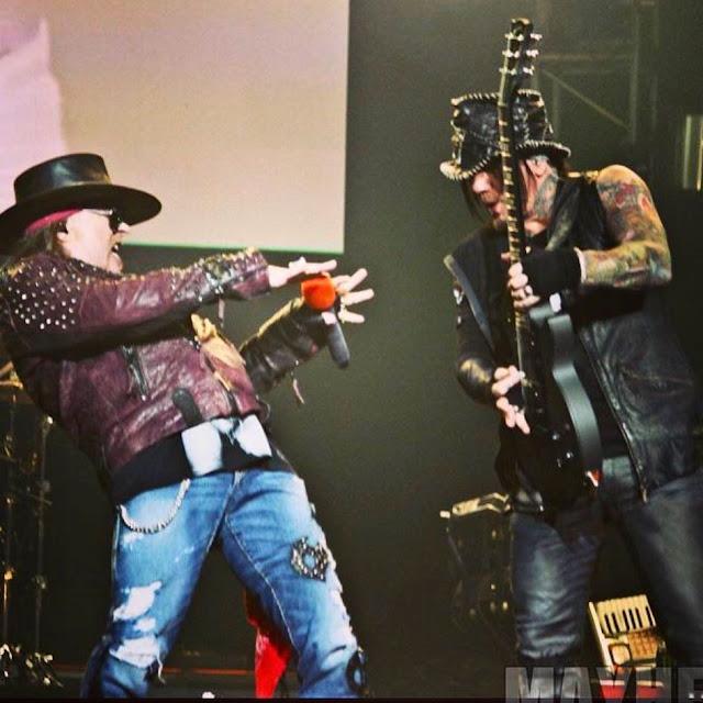 DJ  Asba : Mantan Gitaris Guns N' Roses