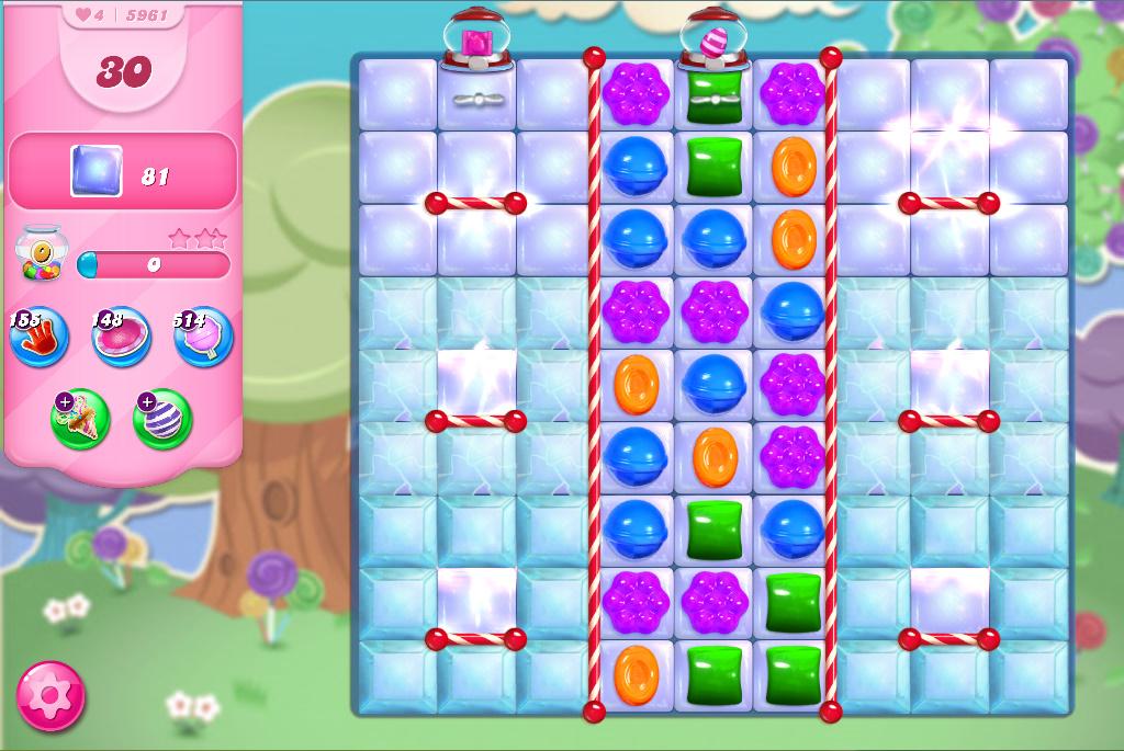 Candy Crush Saga level 5961