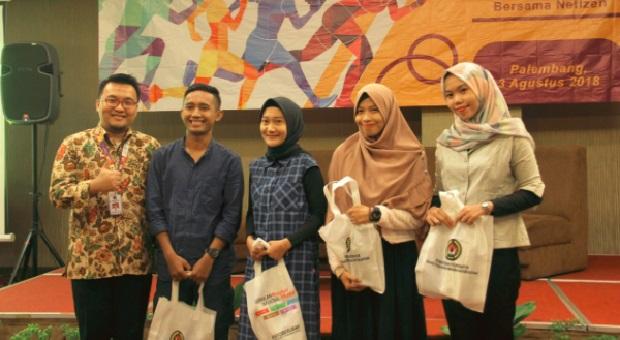 Netizen Palembang Siap Gotong Royong Sukseskan Asian Games 2018