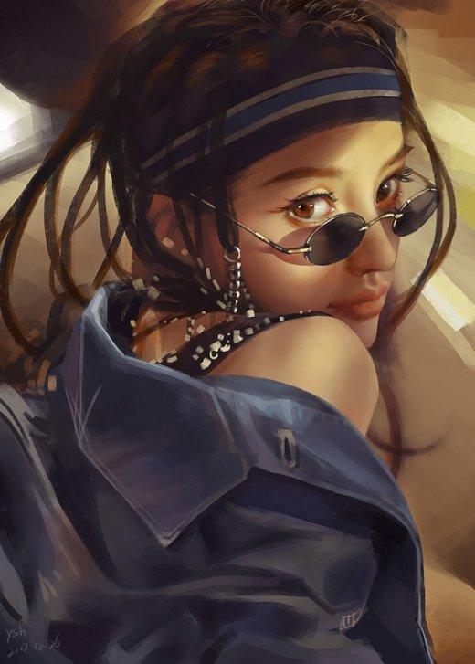 Shuhang Ye artstation arte ilustrações mulheres fantasia games