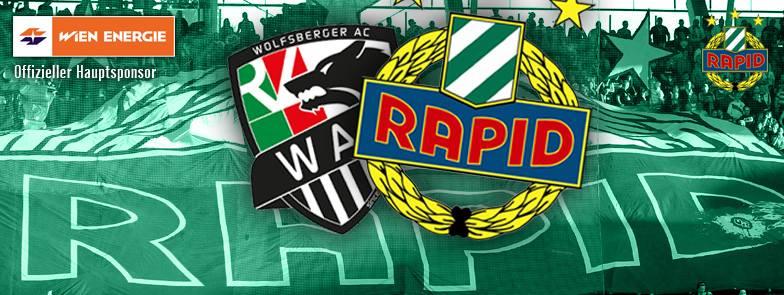 Logo zum Spiel WAC-Rapid (Quelle: Facebook)