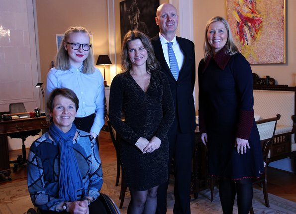 Princess Martha Louise of Norway hosted representatives of 8 organizations that are under her patronage at Oslo Royal Palace