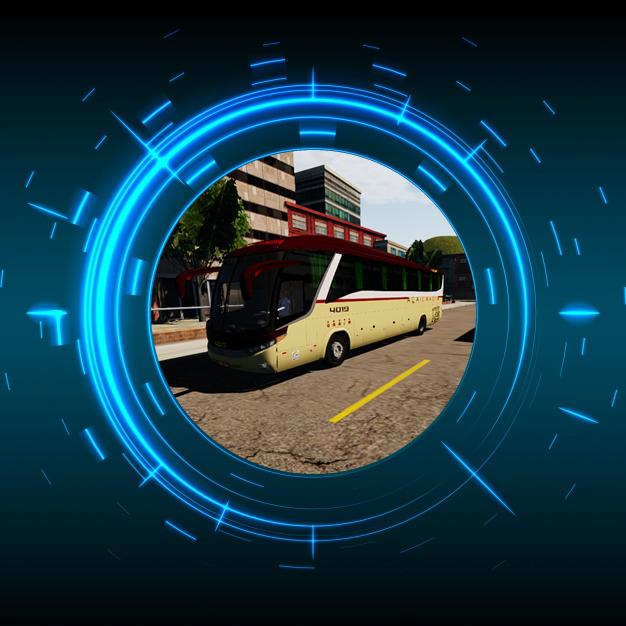 Skin Proton Bus Simulator Road - G7 1200 MB O-500 RS Viação Açailandia