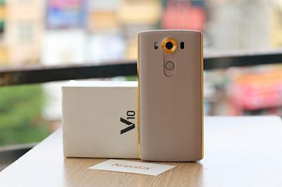 Phien ban LG V10 Gold