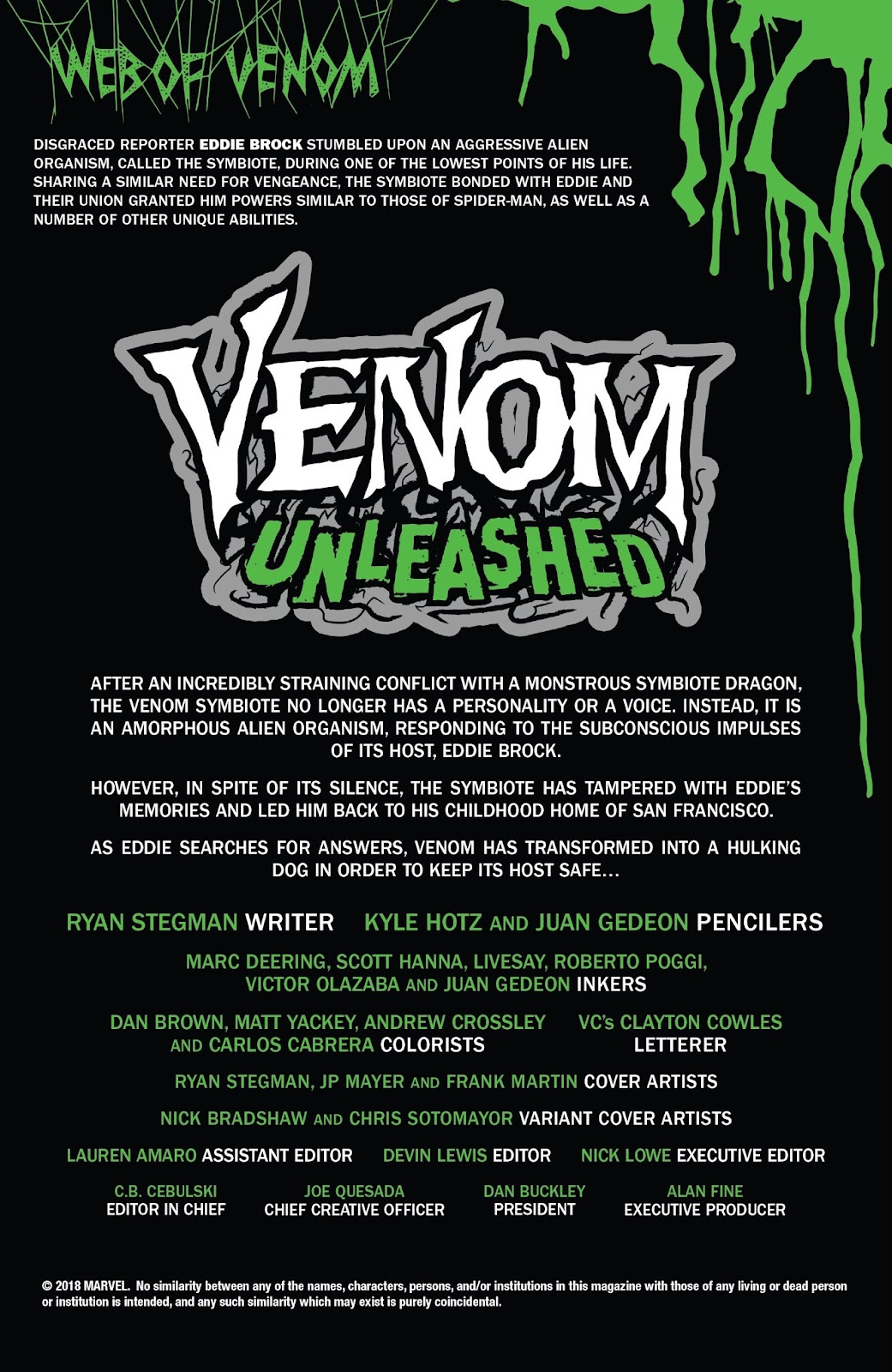 Read online Web of Venom: Unleashed comic -  Issue # Full - 3