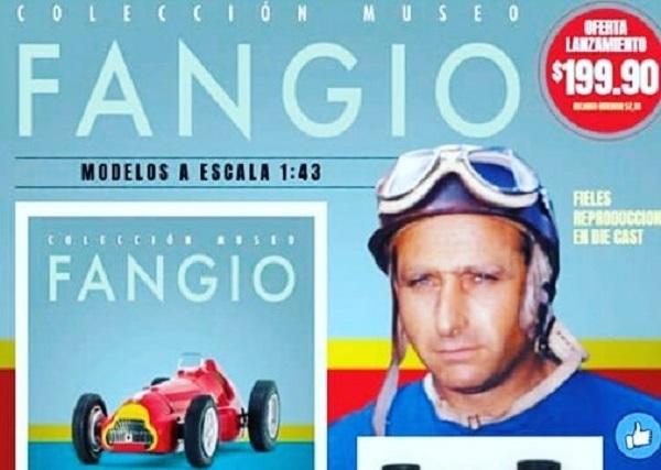 Colección de autos a escala: Museo Fangio Argentina La Nación