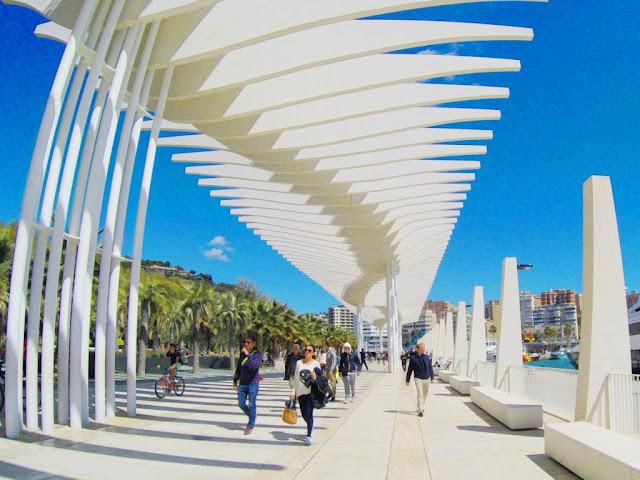 Palmeral de las Sorpresas - Málaga