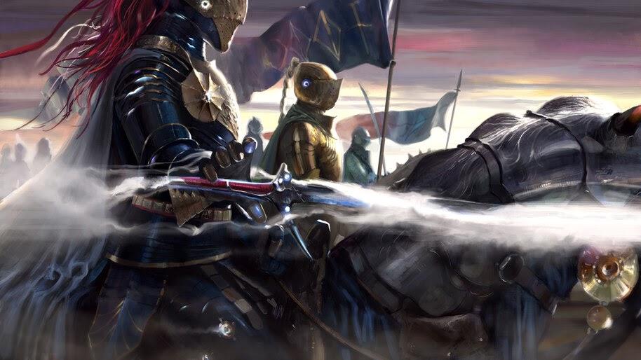 Knight, Army, Fantasy, Warriors, 4K, #4.1012