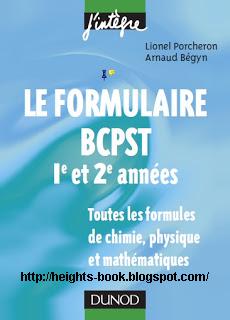 Télécharger Livre Gratuit Toutes les formules de chimie physique et mathématiques pdf
