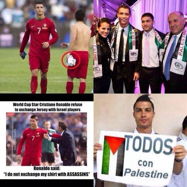 Demi Mendukung Palestina, Ronaldo Menolak Tegas Kontrak Jutaan Dolar dengan Perusahaan PEPSI