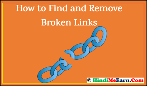 How to Find and Remove Broken Links