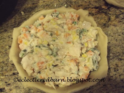 Eclectic Red Barn: Turkey pot pie filling